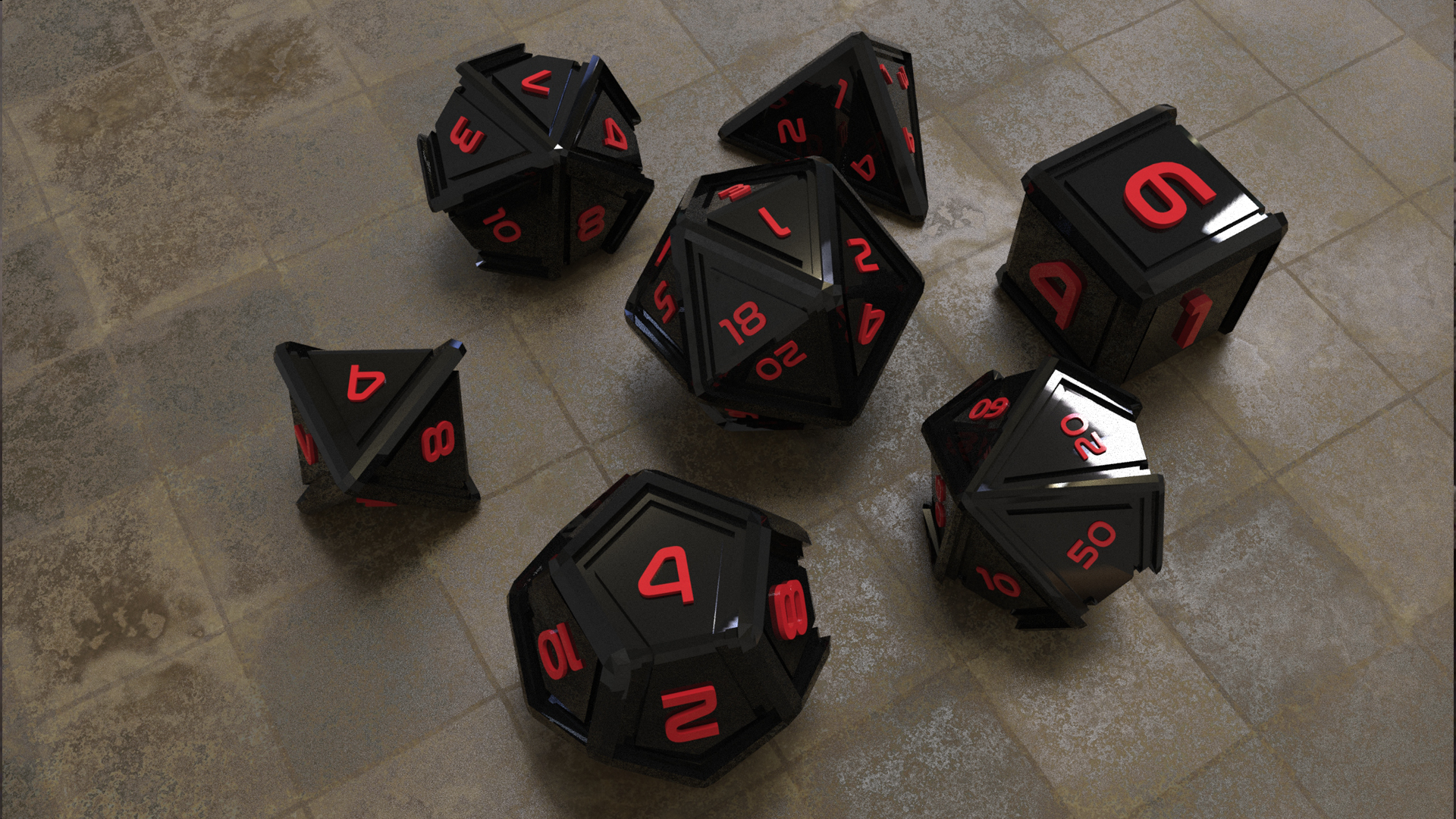 Custom Dice for your Kickstarter or Retail Store.